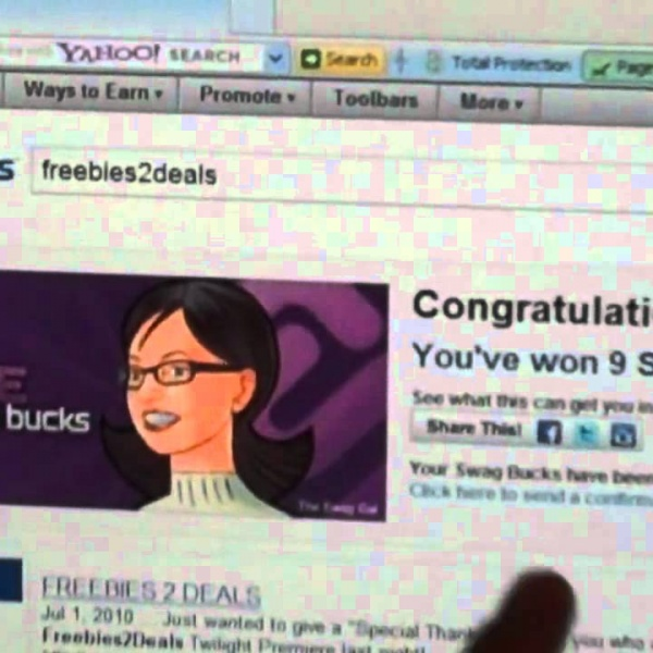 Using Swagbucks to Get Free Stuff!