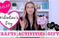 How to Celebrate Valentine's Day with Your Kids! | 5 Cheap DIY Ideas!