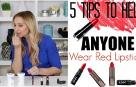 5 Tips to Help ANYONE Wear Red Lipstick!