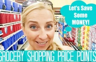 Come Grocery Shopping with Me VLOG! | My Price Points for Snacks, Cereal, Ice Cream & More!