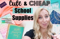 Back to School Shopping 2016: Cute & Cheap School Supplies at Walmart!