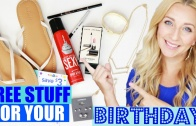 Birthday Freebies: How to Get Free Stuff & Free Gifts on Your Birthday (Free Food, Makeup & Toys)!