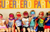 Superhero Birthday Party Ideas: DC Comics & Marvel! | Affordable Super Hero Kids Party!