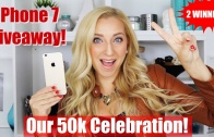 📱Apple iPhone 7 GIVEAWAY to Celebrate 50k Subscribers!