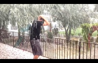WHAT ARE YOU DOING?! Crazy Hail Storm & Chores the Fun Way