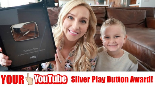 YOUR YouTube Silver Play Button Award! We Did It!🎉🎉