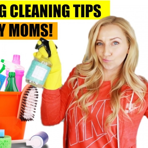 7 Spring Cleaning Hacks & Tips for Busy Moms! | Clean with Me!