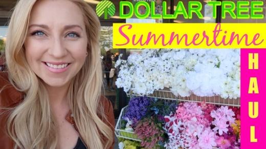$1 Dollar Tree Shopping Vlog! | SUMMER HAUL