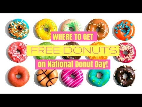 How to Get FREE Donuts on National Doughnut Day!🍩🍩