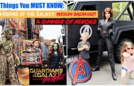 16 Things to Know About Guardians of the Galaxy Mission Breakout & Summer of Heroes at Disneyland!