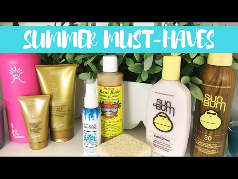 Summer MUST-HAVES & Favorite Things for Summer!