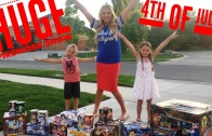 HUGE 4th of July Firework Show: Light off Fireworks with Our Family!🎇