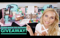 BIGGEST Back to School Giveaway EVER! 2017 (iPad, School Supplies, Makeup) OPEN INTERNATIONALLY