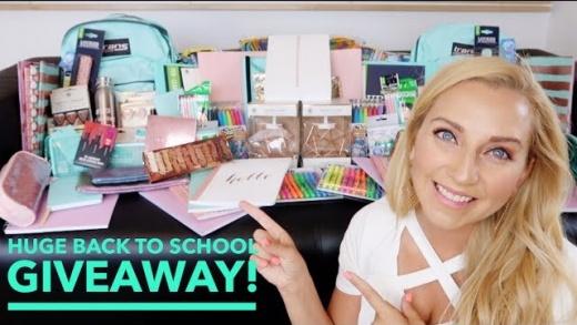 BIGGEST Back to School Giveaway EVER! 2017 (iPad, School Supplies, Makeup) OPEN INTERNATIONALLY