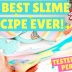 The BEST Slime Recipe Ever! Unicorn Rainbow Slime Tutorial Too (Without Borax)