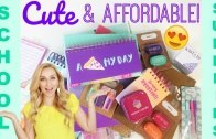 CUTE & Affordable Back to School Supplies Haul 2017 (Target VS. Walmart VS. Office Max)