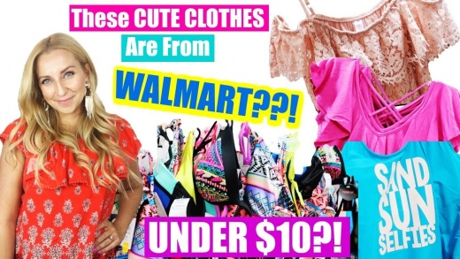 These CUTE CLOTHES are from WALMART?!?!😱 (UNDER $10 & UNDER $5!)