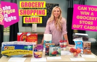 THE PRICE IS RIGHT: Grocery Shopping Prices Game! Can You Win?? + Grocery Gift Card Giveaway!