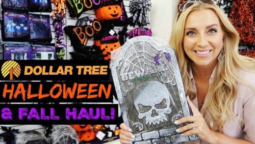 Dollar Tree Halloween & Fall Haul 2017! (Dollar Tree Shop with Me!)