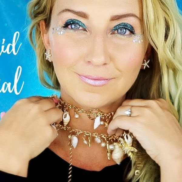SUPER EASY Mermaid Makeup & Costume Tutorial for Halloween! (Anyone Can Do This!)