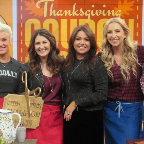 The Rachael Ray Show Coupon Cook Off & Behind the Scenes! (I Was On The Rachael Ray Show!)