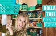 Dollar Tree Pantry Organization Ideas!