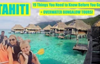Overwater Bungalow Tour + 19 Travel Tips to Tahiti! (Bora Bora, Moorea and Papeete)
