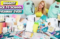 BIGGEST Back to School Giveaway 2018! (iPad, School Supplies, Makeup) OPEN INTERNATIONALLY!