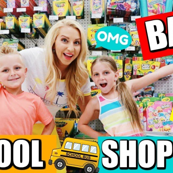 Back to School Shopping & Supplies Haul at Target 2018!