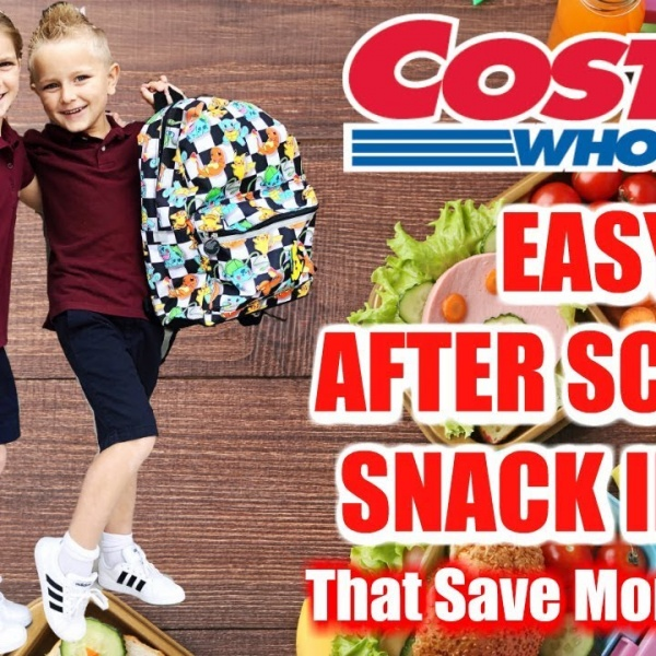 COSTCO SHOPPING TIPS: Easy Grab-And-Go After School Snack Ideas!
