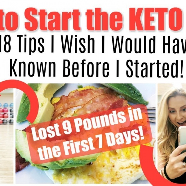How to Start the Keto Diet: 18 Beginner Tips I Wish I Would Have Known! (The Ultimate Keto Guide)