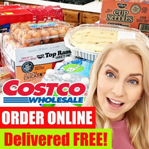 COSTCO GROCERY Shopping: How to Order ONLINE & Get it Delivered FREE with INSTACART!