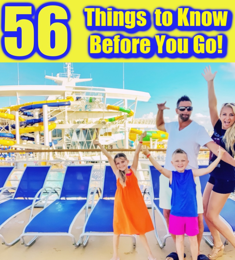 Royal Caribbean Cruise: 56 Things to Know BEFORE You Go