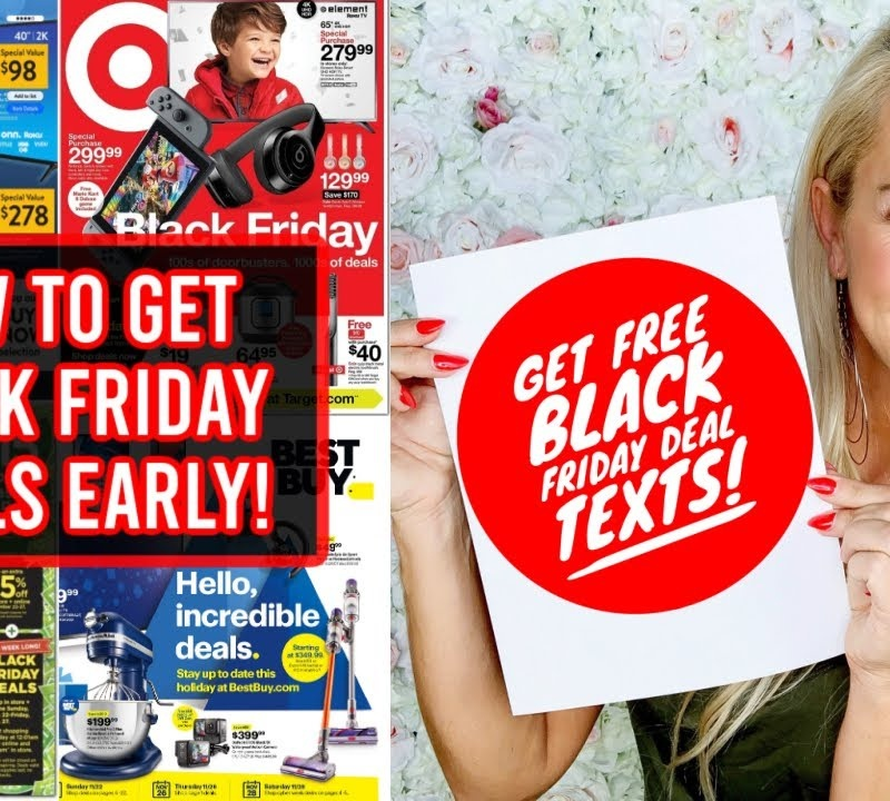 How to Shop Best Black Friday Deals Online EARLY: Walmart, Best Buy, Target, Amazon, Kohl's & More!